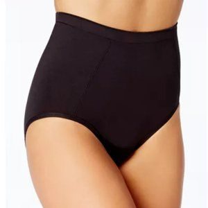 Bali Extra Firm Brief Panty 1pc Large Black